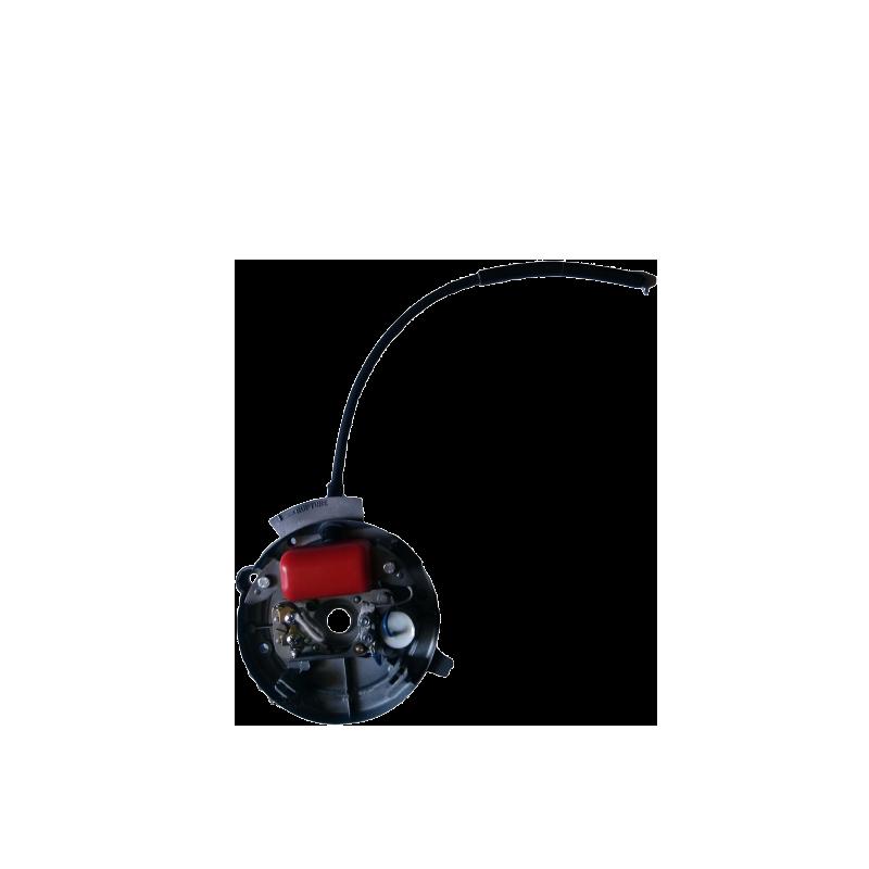 Chaussures bleu vernis