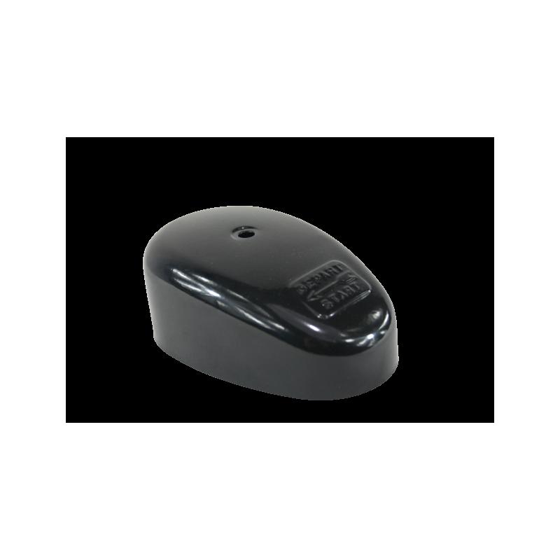 Zapatos negros con cordones